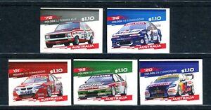2021 Holden's Final Roar - MUH Set of 5 Booklet Stamps