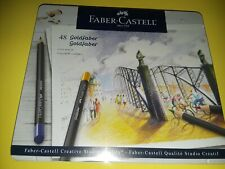 FABER-CASTELL Creative Studio GOLDFABER Color Pencils Tin Set~48 CT~BRAND NEW