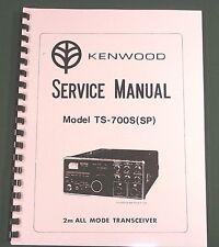 Kenwood TS-700S/TS-700SP Service Manual - Premium Card Stock Covers & 28lb Paper