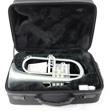 Blessing Model BFH-1541RTS Professional Flugelhorn in Brushed Silver GORGEOUS
