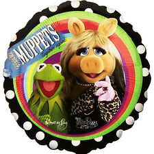 MUPPETS Together Again FOIL MYLAR BALLOON ~ Birthday Party Supplies Kermit Piggy