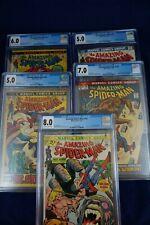 5x Amazing Spider-Man Vintage Comics 103, 109, 110, 113, 127 (All CGC Graded)