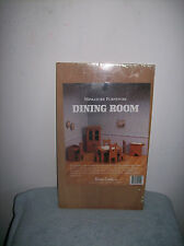 Dollhouse Miniature Wooden  Furniture Kit By Dura-Craft  DINING ROOM NEW IN PKG