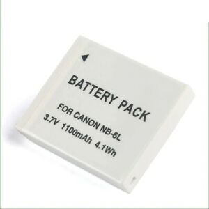 Battery 1100mAh for Canon NB-6LH NB6L