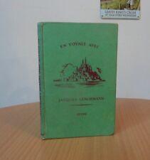 EN VOYAGE AVEC JACQUES LENORMAND-GERALD W.SPINK-1956-VINTAGE SCHOOL HARDBACK