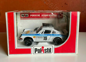 POLISTIL Porsche Kühne & Nagel S713 HFM Die Cast 1:25 made in Italy 1980