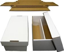 25 New Graded Card Cardboard Storage Shoe Boxes Sport Trading Baseball BCW