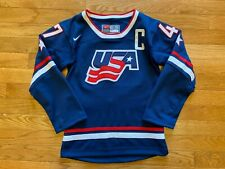 New listing #47 Field Vintage Team USA Nike Hockey Jersey Youth Size 7 S Sewn Olympics