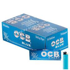 Cartine OCB X-PERT BLU CORTE EXPERT BLUE 1 box da 50 pz blu