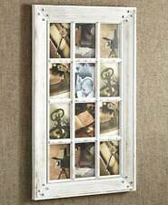 WHITE - Rustic Country Farmhouse 12 - 4 x 6  Collage Wall Photo Frame