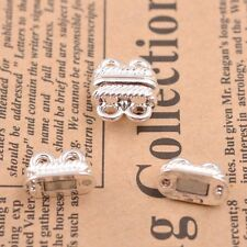 5/10Sets GOLD &SILVER,BRONZE,COPPER 2 Strands Magnetic Slide Clasps Hooks