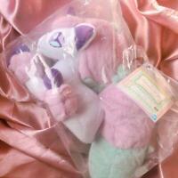 Pokemon Dramatic Collection Plush Doll Galarian Ponyta B Prize
