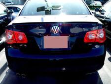 USA Free Ship 2006-2010 VW Jetta 4D M Style Unpainted Trunk Lip Spoiler Wing