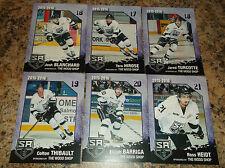 2015-16 COLTON THIBAULT SALMON ARM SILVERBACKS BCHL BCJHL SINGLE PLAYER CARD