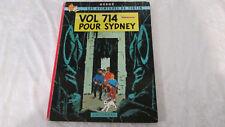 BD Casterman Tintin Vol 714 pour Sydney 1968 EO 1er tirage B37
