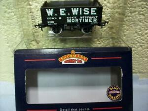 10t 7-Plank Wagon 'W.E. Wise, Mortimer' Bachmann No 37-100A '00' Boxed/Unused