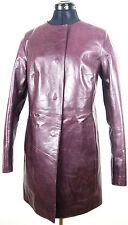 RENE LEZARD Ledermantel Leather Jacket Damen Lederjacke Gr.36 NEU mit ETIKETT