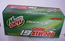 Casey Atwood Mountain Dew 2001 NASCAR 1:24 Action diecast race car 101418