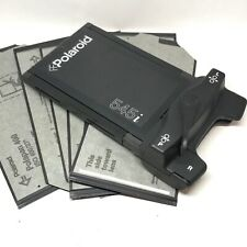 Polaroid 545i Large Format Instant Film Back 4X5 Land Holder Fuji 6x Polapan 400