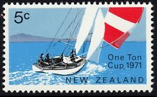 NEW ZEALAND 1971 5c One Ton Cup Sc#471 MNH @E2712