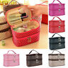 Womens Cosmetic Bags Make Up Case Travel Wash Toiletry Storage Organizer Pouch