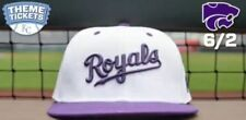 KC Kansas City Royals MLB Promo SGA Season Giveaway K-State University Hat Cap