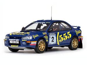 SUBARU IMPREZA 555 rally McRae Ringer Casazza 1:18th SUNSTAR 5502 5513 or 5516
