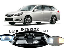 LED Package - Interior + License Plate + Vanity for Subaru Legacy (10 pieces)