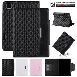 For iPad 8th 7th 6th 5th Air 1/2/3 Mini 5/4 Pro 11 2021 Case Smart Leather Cover