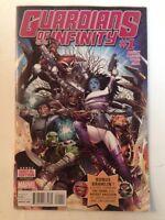 Guardians Of Infinity 1 Near Mint Abnett Barberi