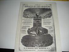 1875 Herald Of The Morning por Barbour Biblia Estudiantes C. T. Russell