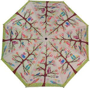 Coynes BRIGHT OWL Automatic Open Close Folding Umbrella