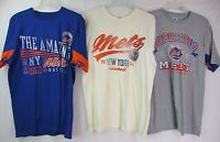 New York Mets Men's Large Graphic T-Shirt by Hands High THREE STYLES! MLB