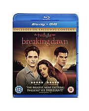 The Twilight Saga - Breaking Dawn - Part 1 (Blu-ray and DVD Combo)  NEW / SEALED
