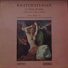 KHATCHATURIAN/DEVY ERLIH LA DANSE DU SABRE FRENCH LP
