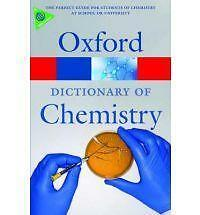 A Dictionary of Chemistry by Oxford University Press (Paperback, 2008)