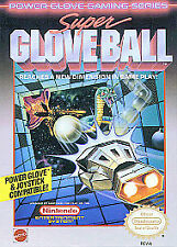 Super Glove Ball (Nintendo Entertainment System, 1990) GAME ONLY NICE NES HQ