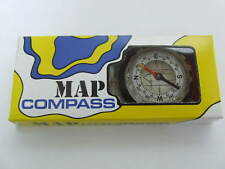 NEW MADE IN JAPAN MAP COMPASS AND MAGNIFIER NO. 125