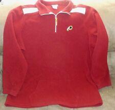 NFL Washington Redskins Fleece Pullover Jacket Womens 1X Football   !!MUST SEE!!