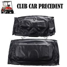 Club Car Precedent 2004-Newer golf cart BLACK Seat Cover Set