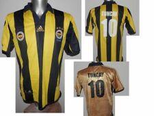 2006-07 Fenerbahce Centenary Reversible TUNCAY #10 Home Football Jersey Shirt S
