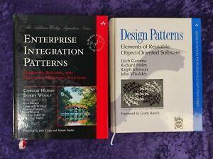 Design Patterns + Enterprise Integration Patterns set of 2 books. Very good