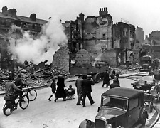 WWII BOMBING OF LONDON 8X10 PHOTO WORLD WAR II