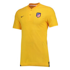 2017-2018 Atletico Madrid Nike Authentic Grand Slam Polo Shirt (Gold) - XXL