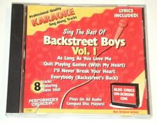 Sing The Best Of BACKSTREET BOYS Karaoke Vol. 1 CD+G