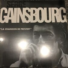 Serge Gainsbourg 'LA Chanson de Prevert' - Brand new & sealed Vinyl Lp