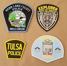 USA - 4 x Different Police Patches #60