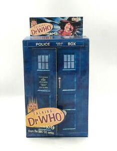 DR WHO WITH K9 IN TARDIS TOM BAKER AS THE FORTH DOCTOR FIGURE