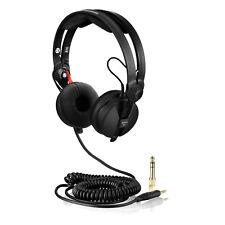 HD-25 Noir Spirale Deluxe Câble Pour Sennheiser HD 25 et oreille Pads Kit