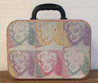 "Marilyn Monroe Collectible 10"" Lunch Box ~ Tin Collectors Box 2000 Pop ART"